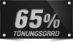 65% Tönungsgrad
