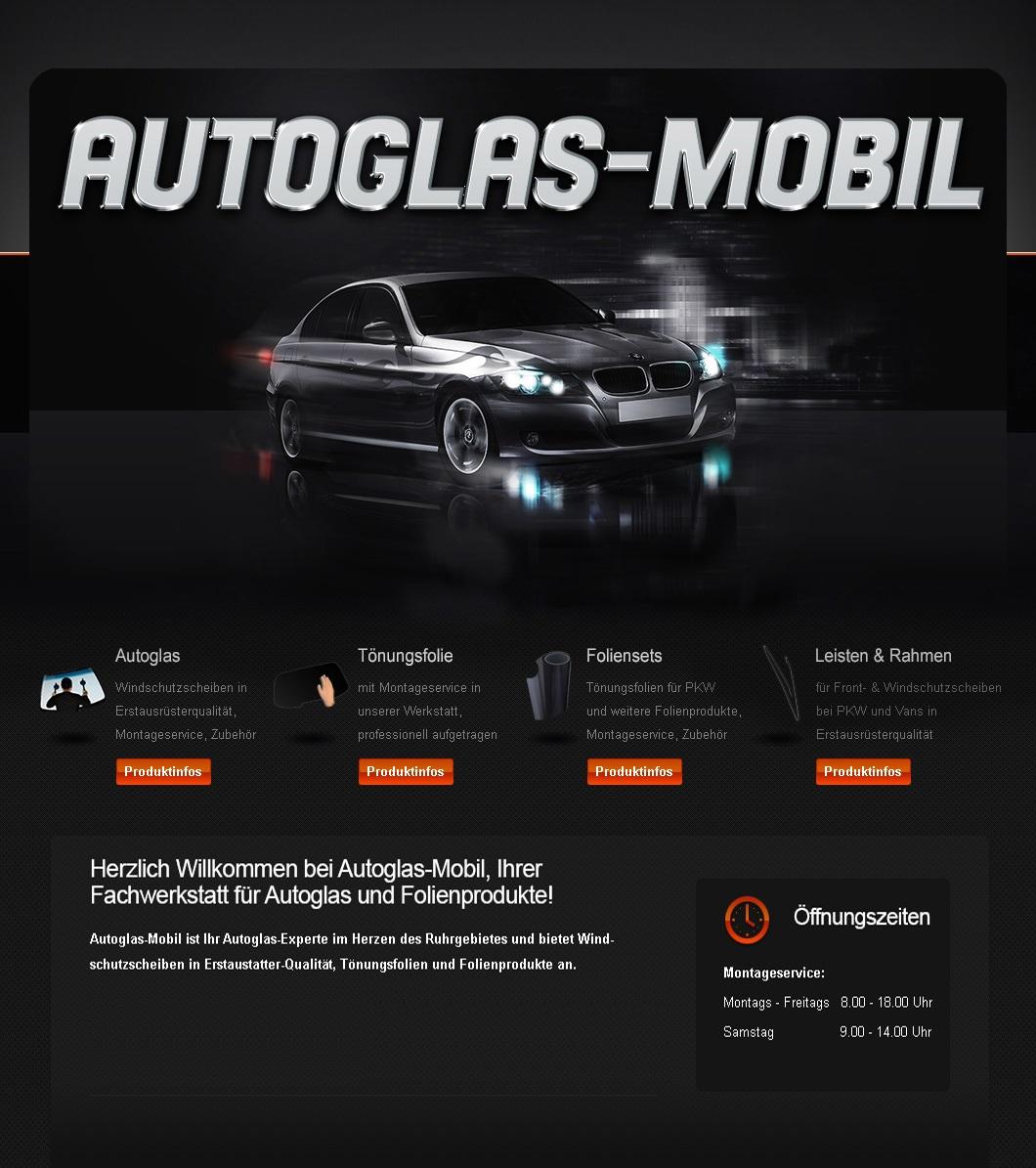 Autoglas-Mobil