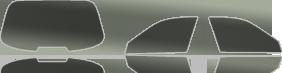passgenau zugeschnittene Folienteile