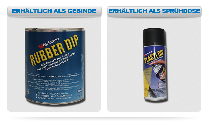 plasti dip fl ssiggummi spray 2x400ml neuheit in allen. Black Bedroom Furniture Sets. Home Design Ideas